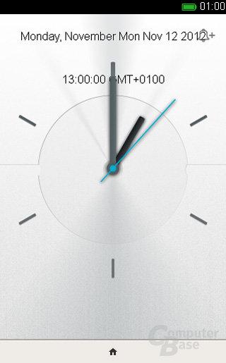 Firefox OS Uhr