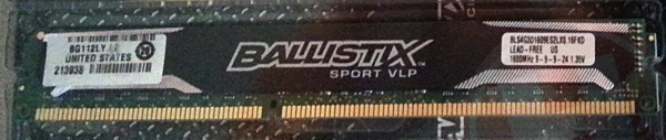 Crucial Ballistix Sport VLP