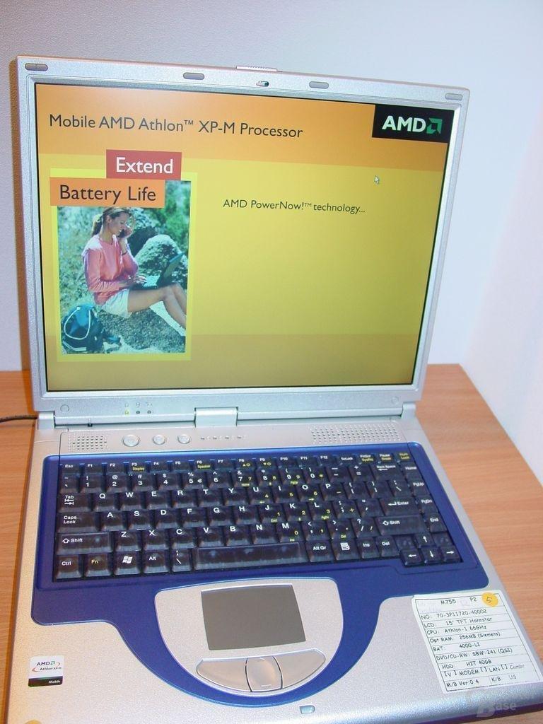 Mobile Athlon Notebook