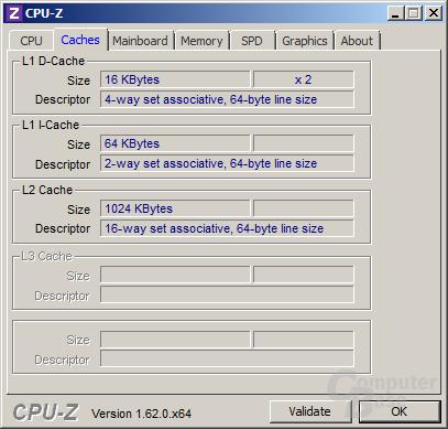 AMD A6-5400K - Cache