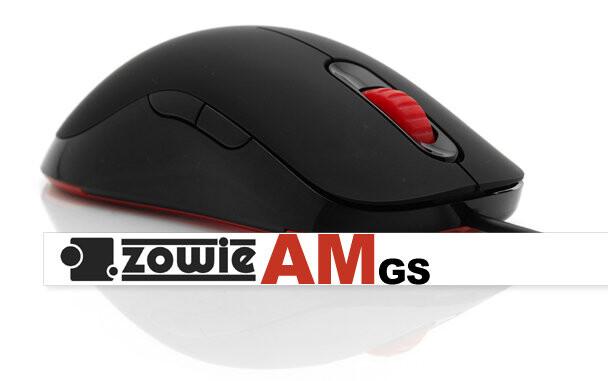 Zowie AM Spielermaus mit Avago ADNS 3090 Sensor