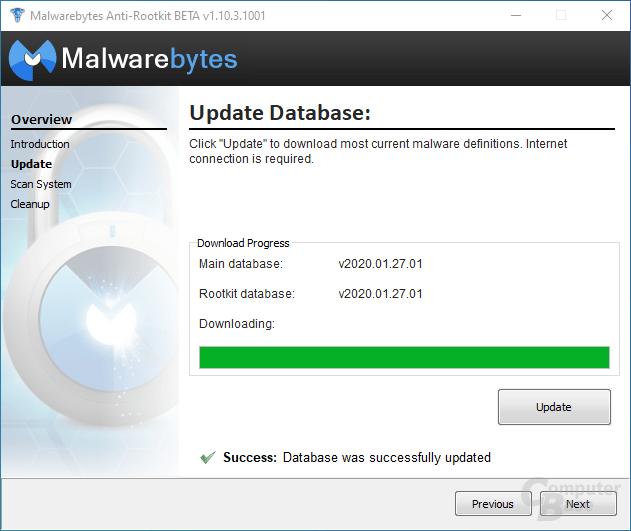Malwarebytes Anti-Rootkit – Update