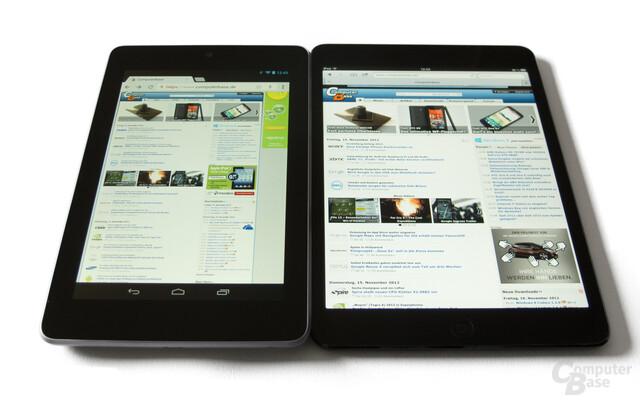 iPad mini und Nexus 7