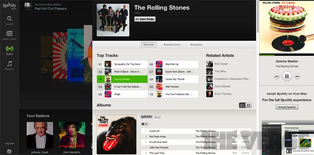 Spotify Web-Player demnächst auch in Deutschland verfügbar
