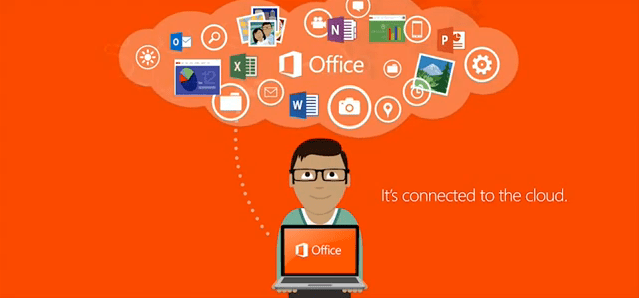 Office 2013 – It`s connected to the cloud