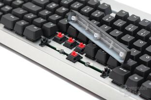 Corsair K90 – Schalter und LEDs