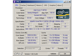 Intel Core i7-3970X im Basistakt