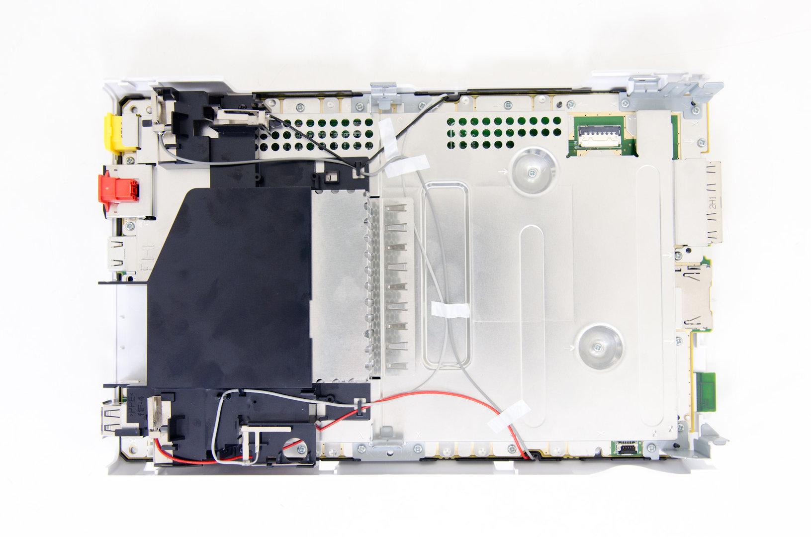 Nintendo Wii U auseinandergenommen