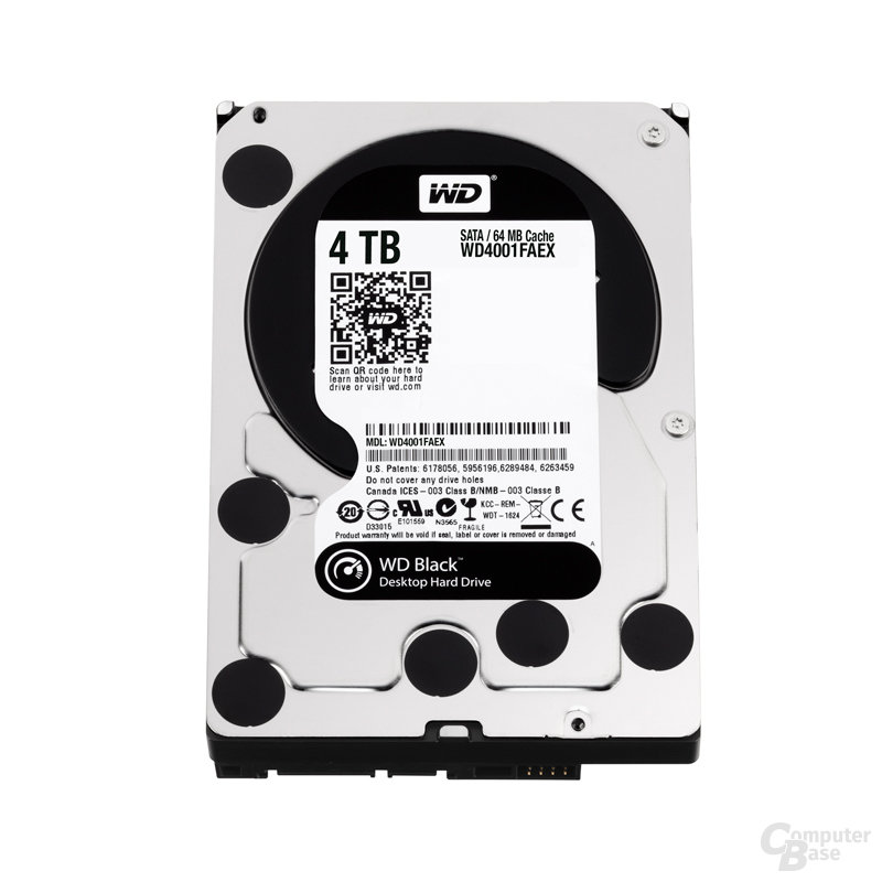 Western Digital Caviar Black 4 TB (WD4001FAEX)