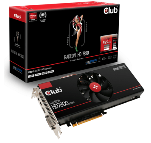 Club 3D Radeon HD 7870 JokerCard