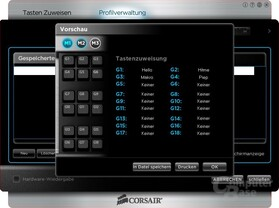 Corsair K90 – Software