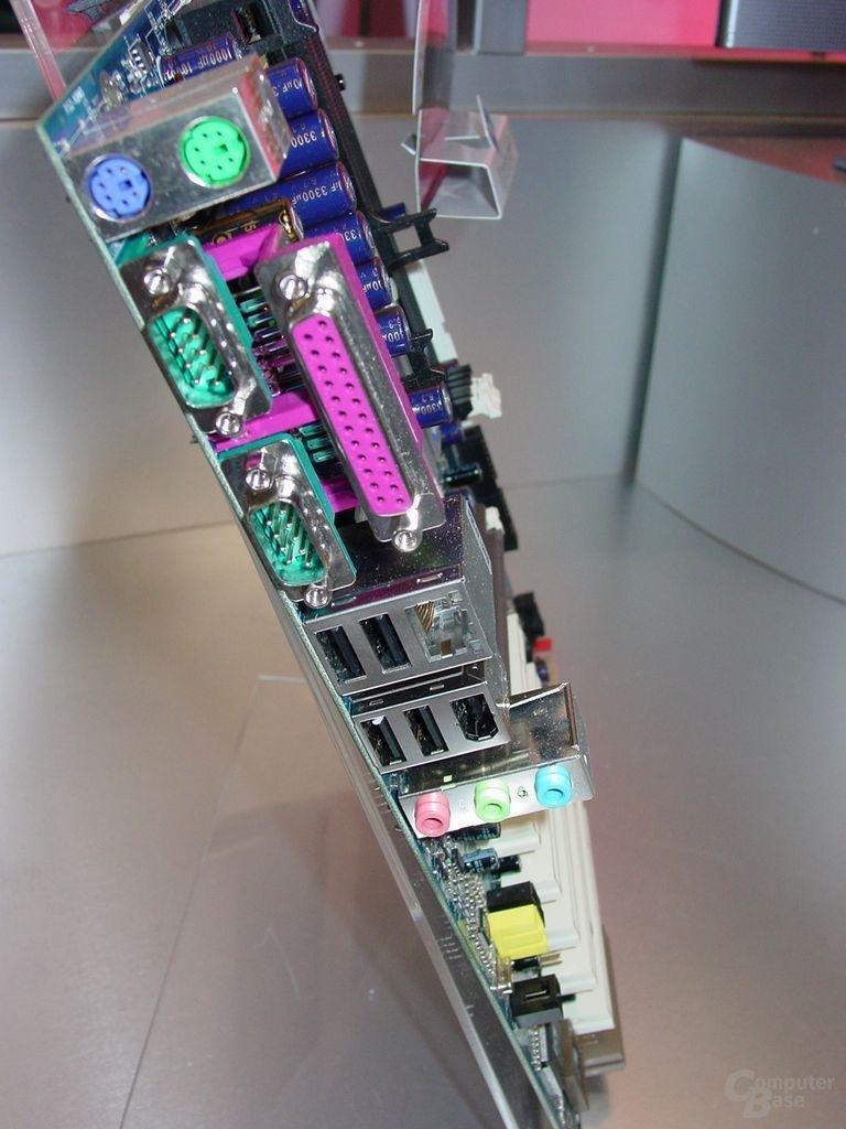 VIA VPSD P4PB 400S mit P4T400 und FSB800 Support