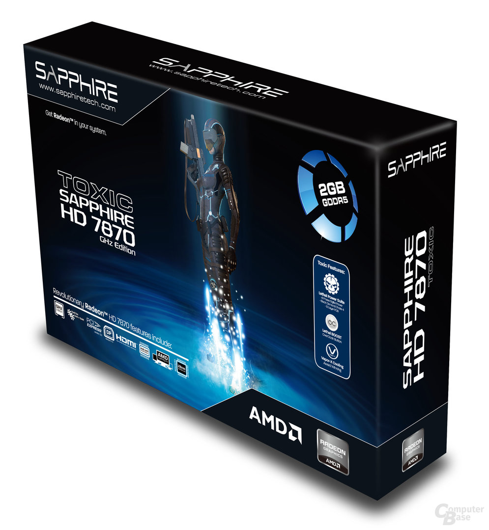 Sapphire Radeon HD 7870 Toxic Edition