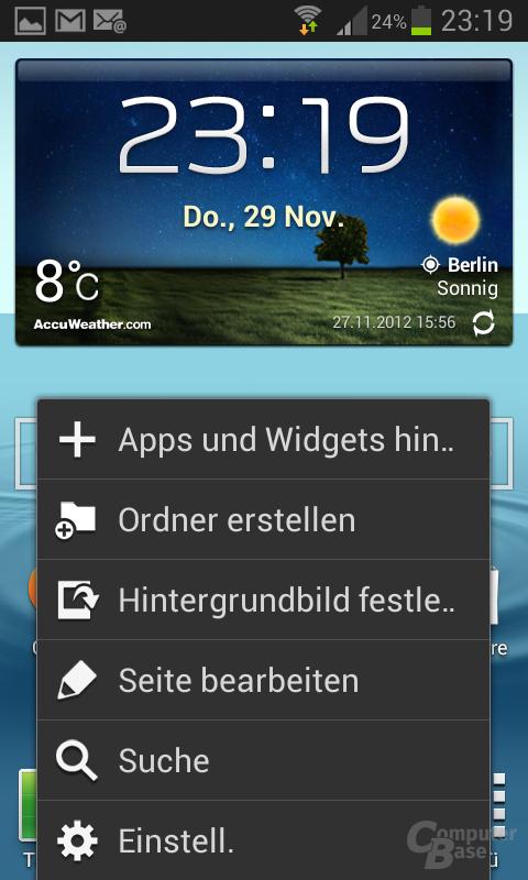Samsung Galaxy S III mini Vergleich Übersetzung