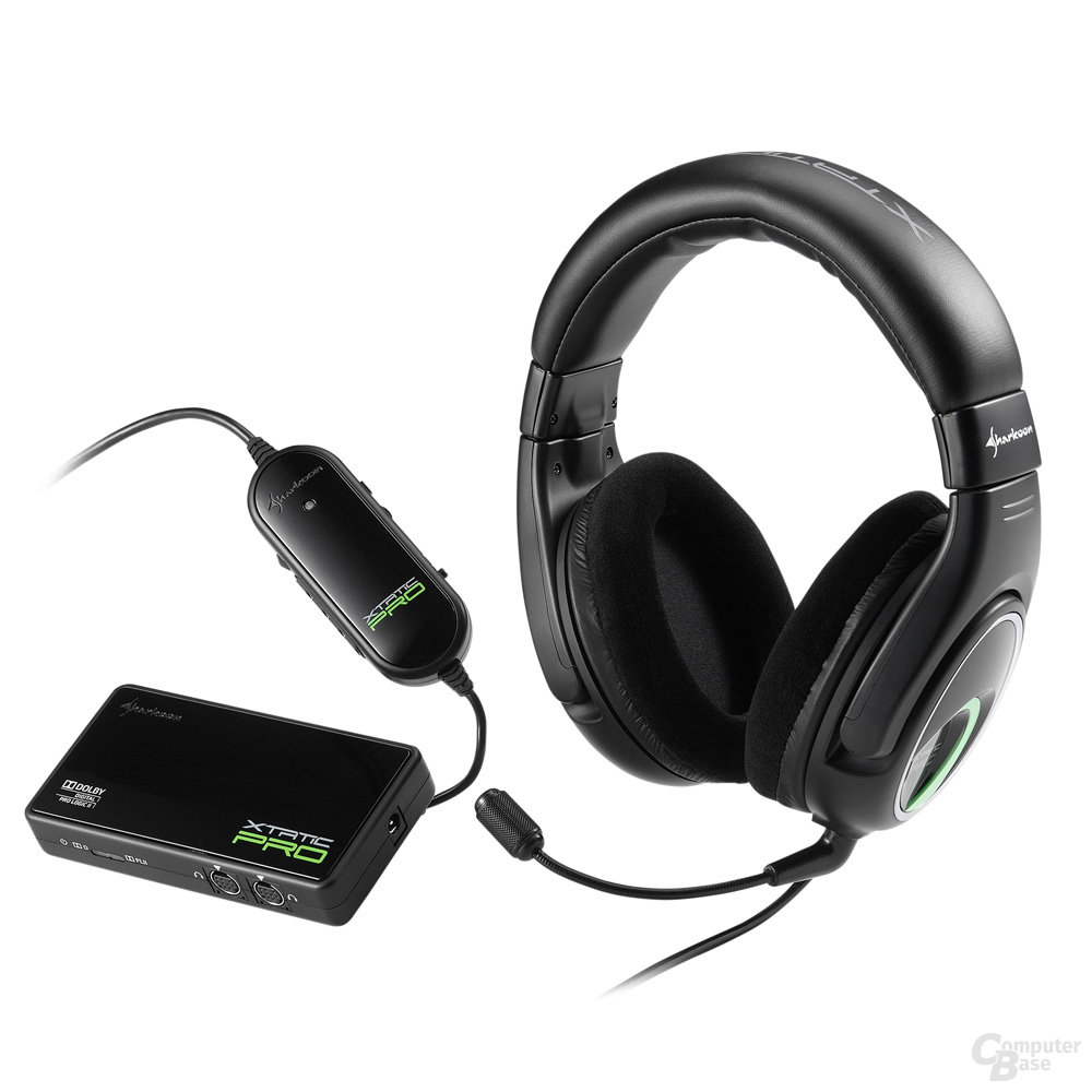 Sharkoon X-Tatic PRO 5.1 Headset