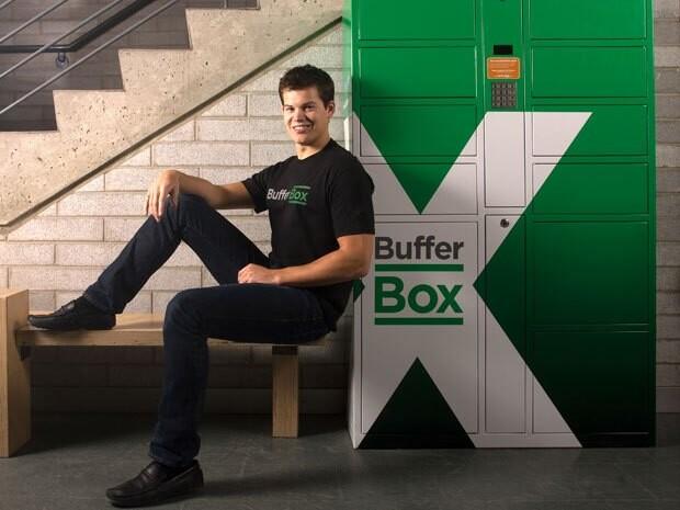 Mitgründer Mike McCauley mit der BufferBox