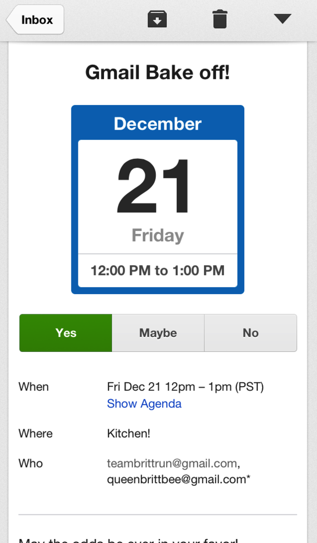 Gmail 2.0 für iOS