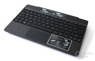 Tastatur-Dock mit zweitem Akku
