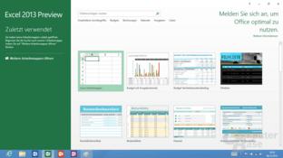 Excel 2013 für Windows RT