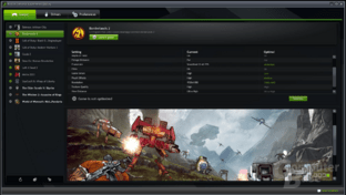 Nvidia geForce Experience in der Closed-Beta-Phase