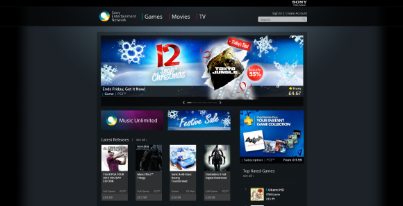 Sony PlayStation Store
