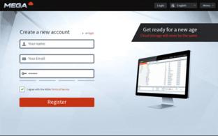 Registrierungsmaske