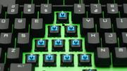 Razer Black Widow Ultimate 2013 im Test: Grünes Licht für blaue Schalter