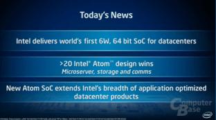 Intel Atom S1200 für Microserver