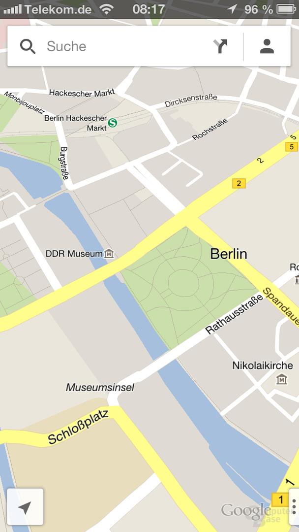 Google Maps für iOS