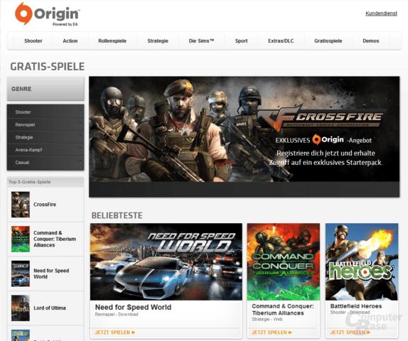 Origin Free To Play