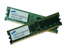 Samsung  1GByte DDR2-DIMMs