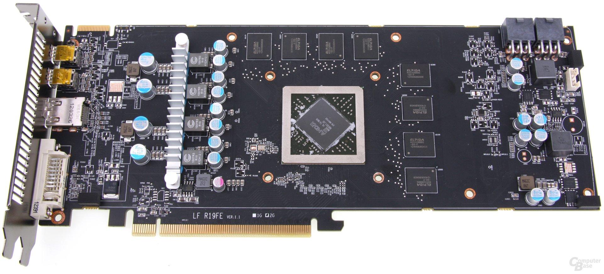 Radeon HD 7870 Black Boost Edition ohne Kühler
