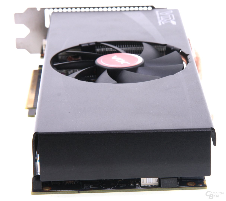 Radeon HD 7870 Black Boost Edition von hinten