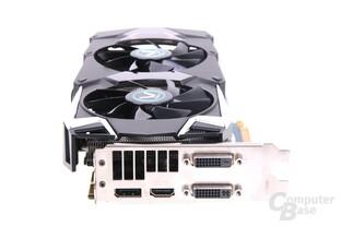 Radeon HD 7970 GHz Edition Vapor-X Slotblech