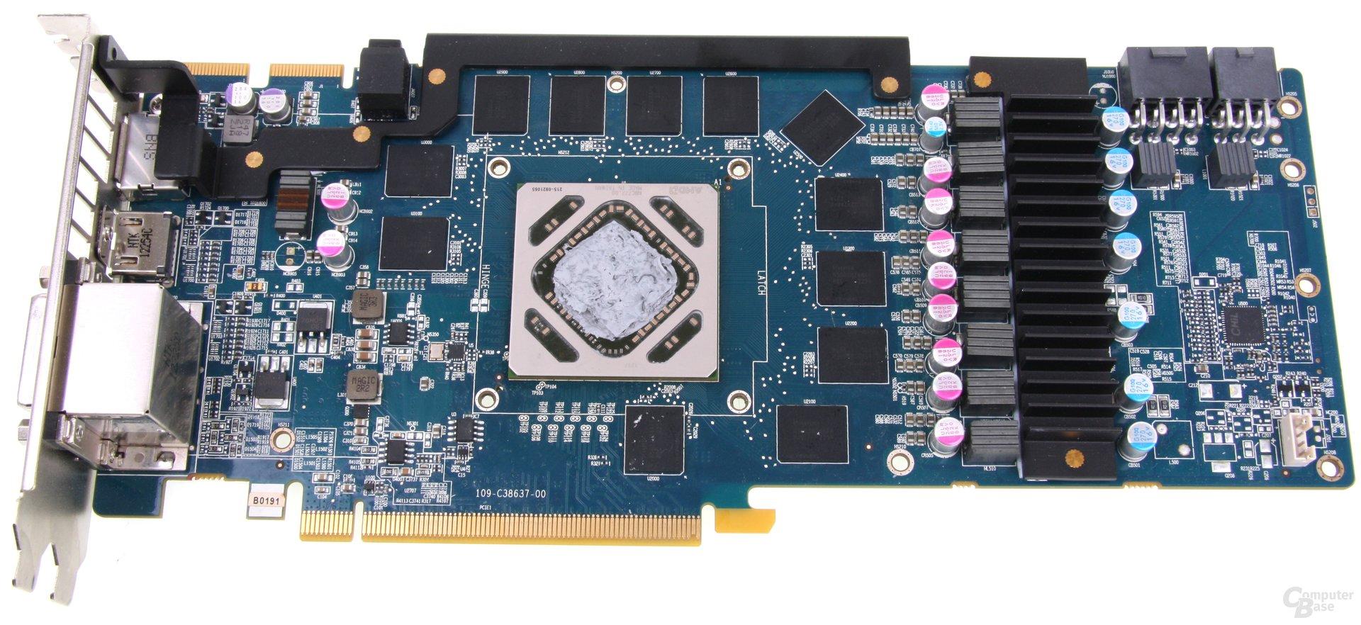 Radeon HD 7970 GHz Edition Vapor-X ohne Kühler