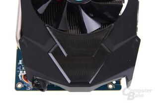 Radeon HD 7970 GHz Edition Vapor-X von oben