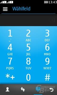 Nokia Asha 311 Oberfläche