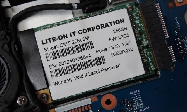Lite-On CMT-256L3M: Zwei SSDs auf einem PCB