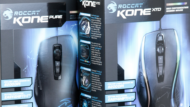Roccat Kone Pure und Kone XTD im Test: Nachwuchs in der Kone-Familie