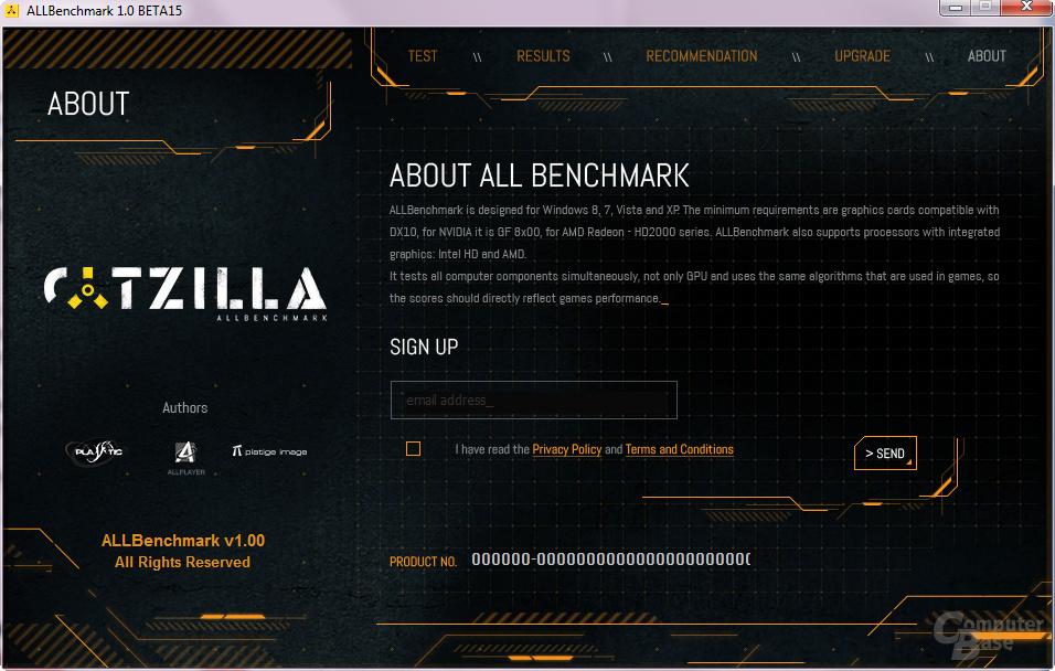 Catzilla AllBenchmark (Beta)