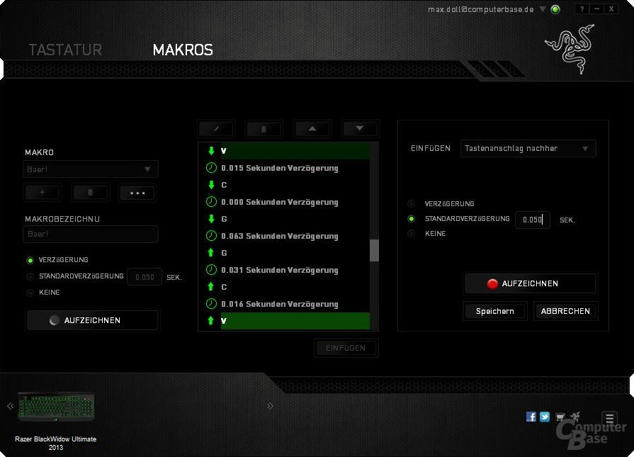 Synapse 2.0 – Makros