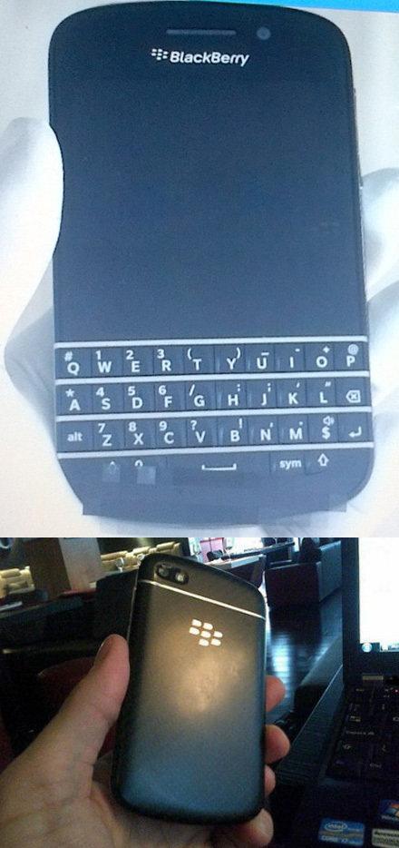 BlackBerry N-Series durchgesickert
