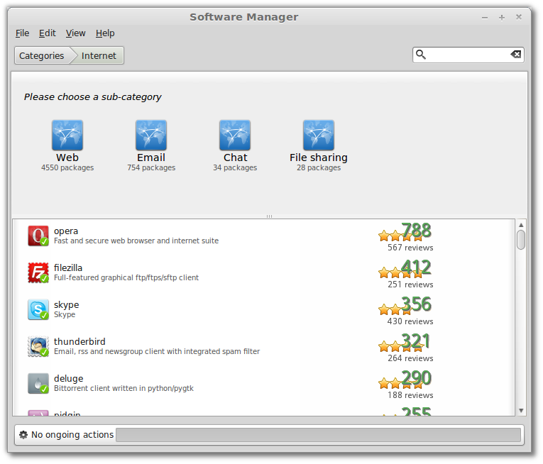 Mint Software Manager