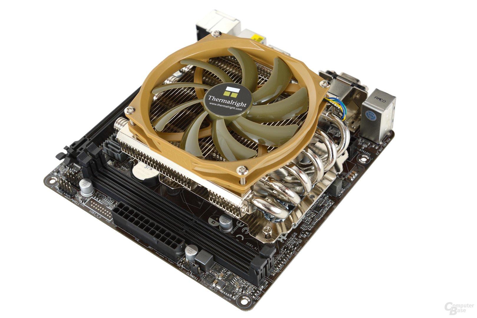 ASRock H81M-ITX mit Intel i3-4130