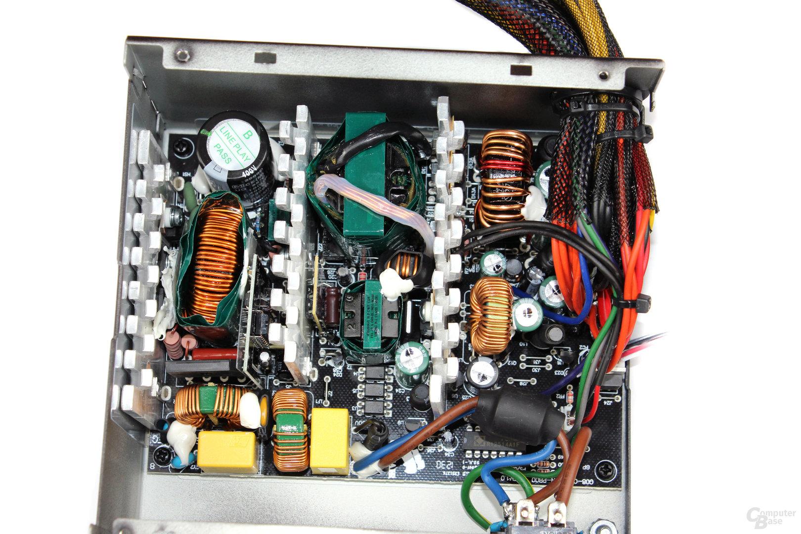 Übersicht der Elektronik
