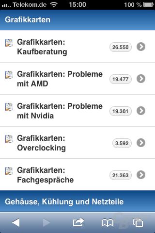 ComputerBase-Forum (Mobil)