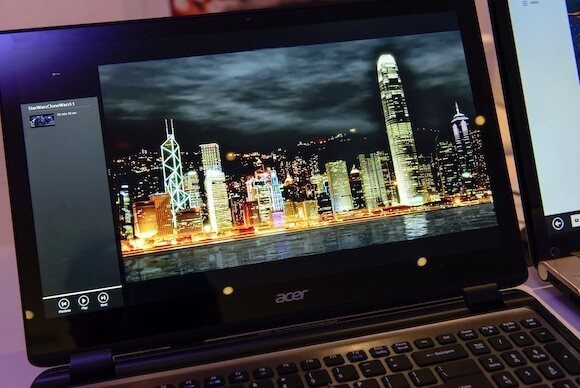 "Acer-Notebook mit ""Retina-Display"""