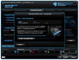 TCU-Untergrundkalibrierung der Kone-Sensorik