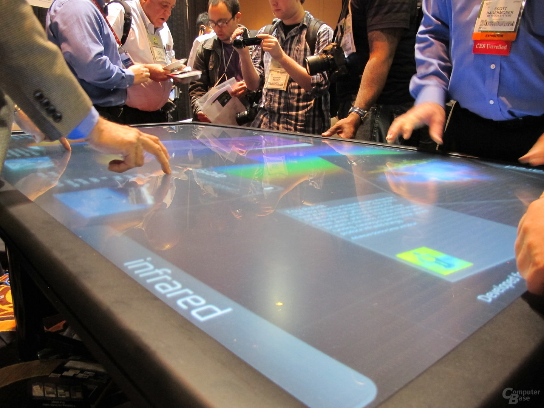 3Ms Touch-Tisch mit 84 Zoll