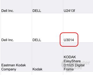 Dokument bestätigt Dell U3014